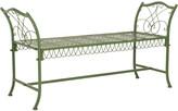 Safavieh Arona Wrought Iron 51-Inch Outdoor Garden Bench