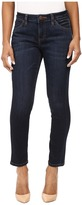 Jag Jeans Petite Petite Penelope Slim Ankle in Platinum Denim in Indio