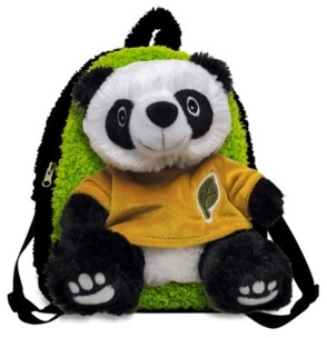 3 Stories Trading Buddy Panda Bear Toddler Backpack
