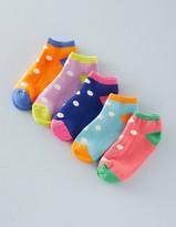 Boden 5 Pack Sneaker Socks