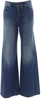 Christian Dior Flared Wide Leg Jeans