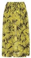 Diane von Furstenberg Printed cotton and silk skirt