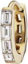 Maria Tash Single 6.5MM Yellow Gold Baguette Diamond Eternity Clicker Ring