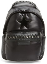 Stella McCartney Mini Falabella Go Star Backpack - Black