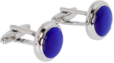 Oxford Cufflinks Blue/Slv X