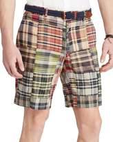 Polo Ralph Lauren Classic Fit Plaid Madras Shorts 30 Waist Red 9' Inseam