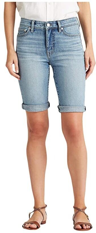 Lauren Ralph Lauren Petite Stretch Cotton Blend Shorts Women's Shorts