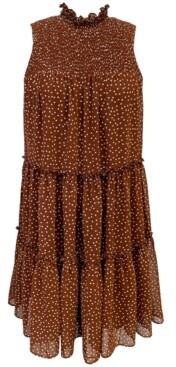 Taylor Petite Printed A-Line Dress