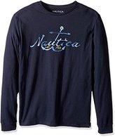 Nautica Men's Long Sleeve Graphic T-Shirt