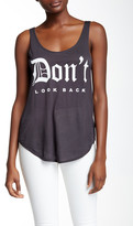 Signorelli Don't Look Back Scoop Tank