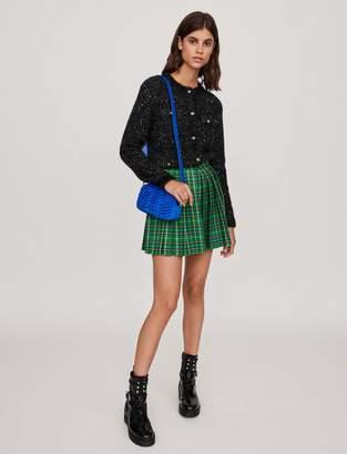 Maje Fancy Lurex knit cardigan