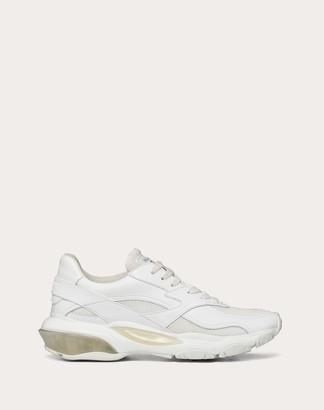 Valentino Bounce Low-top Sneaker Women White Calfskin 100% 41.5