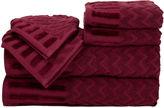Asstd National Brand Cambridge Home Chevron 6-pc. Egyptian Cotton Bath Towel Set