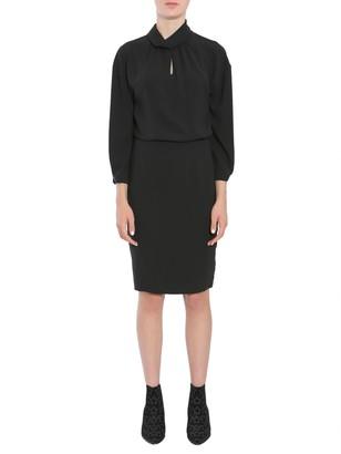 Boutique Moschino Crepe Dress