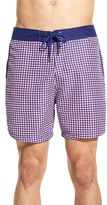 Mr.Swim Men's Mr. Swim Houndstooth Swim Trunks