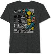 JEM Men's X-Men Wolverine Boxed Cotton Graphic-Print T-Shirt