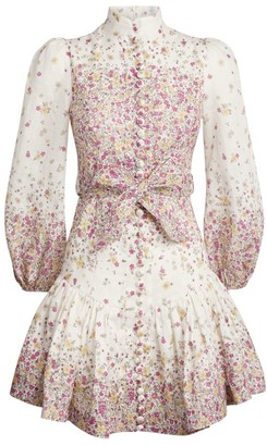 Zimmermann Carnaby Floral Dress