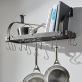 Crate & Barrel Enclume ® Bookshelf Pot Rack