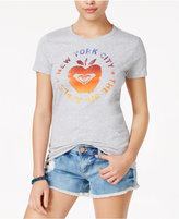 Roxy Juniors' The NYC Apple Graphic T-Shirt