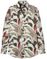 Banana Republic Dillon-Fit Tropical Print Shirt