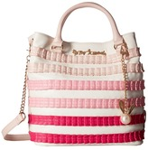 Betsey Johnson Pleats & Thank You Tote