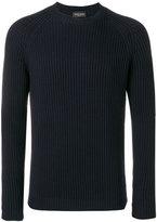 Roberto Collina ribbed knit jumper - men - Merino - 46