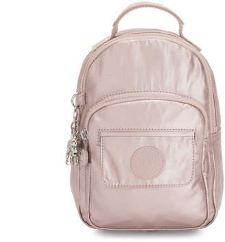 Kipling Alber 3-In-1 Convertible Mini Metallic Backpack