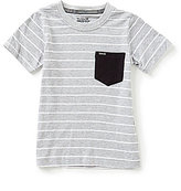 Hurley Little Boys 4-7 Solid Pocket Tee