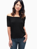 Splendid Super Soft Off The Shoulder Top