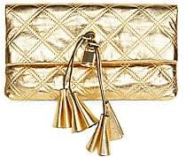 Marc Jacobs Women's The Metallic Leather Clutch