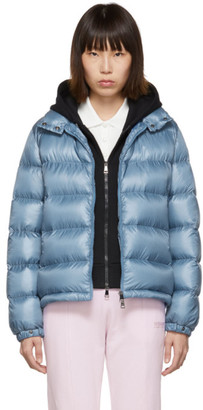 Moncler Blue Down Copenhague Jacket