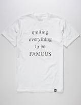 Famous Stars & Straps Quit Everything Mens T-Shirt