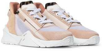 Fendi Flow suede and nylon sneakers
