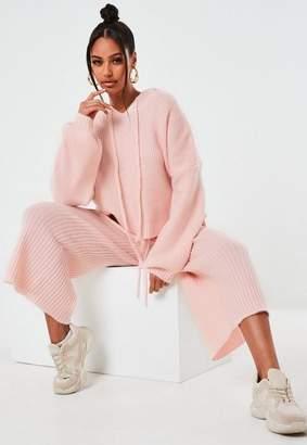 Missguided Petite Premium Rose Co Ord Culottes
