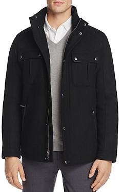 Cole Haan Melton Wool Trucker Jacket