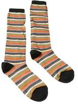 Missoni Gm00cmd5218 0003 Green/tan Boot Socks.