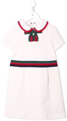 Gucci Kids Bow Detail Party Dress