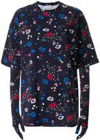 Balenciaga Floral T-shirt with gloves