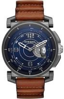 Diesel Sam Brown Leather Hybrid Smartwatch