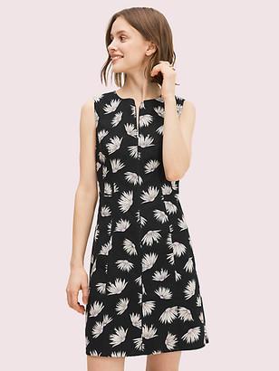 Kate Spade Falling Flower Pique Dress