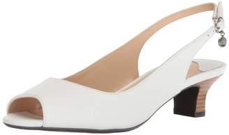 J. Renee Womens Aldene Pure White 7.5 W (C)