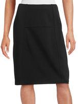 Nic+Zoe Paneled Ponte Flirt Skirt