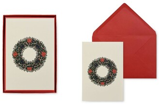 Original Crown Mill Wreath Christmas Cards (Set of 6)