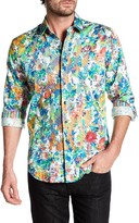 Robert Graham Printed & Embroidered Classic Fit Shirt