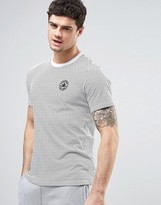 Converse T-Shirt In Micro Dot in White 10003654-A01