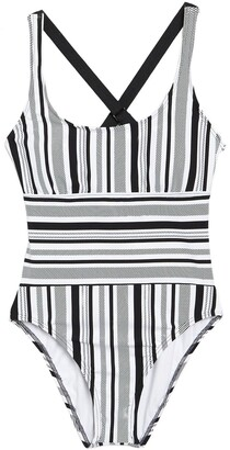 Next Limitless Stripe One-Piece Swimsuit