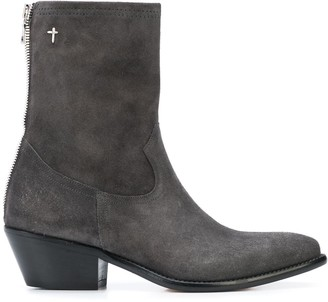 RtA Western Ankle Boots
