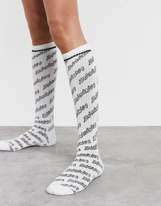 Dickies Dubberly AOP sock in white