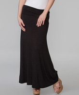 Long Fitted Maxi Skirt - ShopStyle