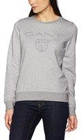 Gant Women's Shield C-Neck Sweat Sweatshirt,S